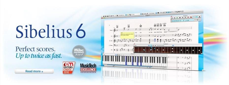 Sibelius 6.2 rus/eng Русская версия Нотный редактор Final 2011 32 bit 64 bit Скачть Торрент/Torrent +Кряк/Клюя + Русификатор