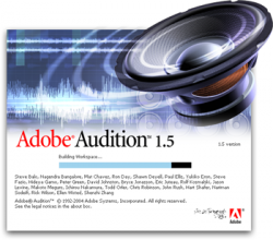Adobe Audition 1.5 Rus/Eng Final 2011 32bit/64bit для window 7 + Ключ/Кряк Русская версия! Adobe Audition 1.5