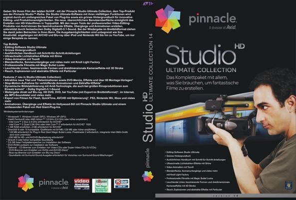 Pinnacle studio 15 hd ultimate collection » программное.