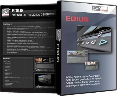 Скачать EDIUS 6.02 Rus Торрент/Torrent + Ключ Final 2011 Скачать Grass Valley Edius 6 Rus Лучший редактор видео 32bit-64bit