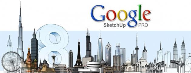Новый! Google SketchUp 8 Pro Русская версия Программа для 3D Моделирования Final 2012